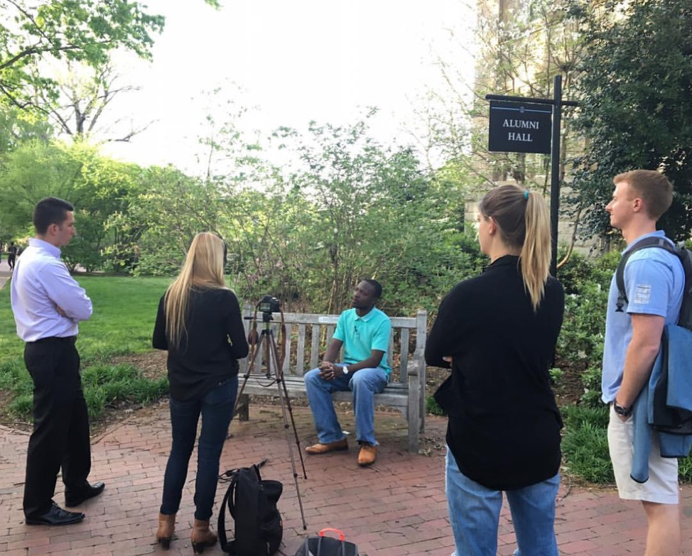 William Kamkwamba, author of The Boy Who Harnessed the Wind, gladly agreed to be interviewed for our Lug-a-Jug promotional video and explained the importance of alleviating water poverty.